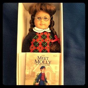 1st Orginal Miniture American Girl  Molly Doll